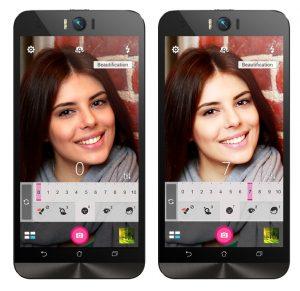 ZenFoneカメラモードが充実!